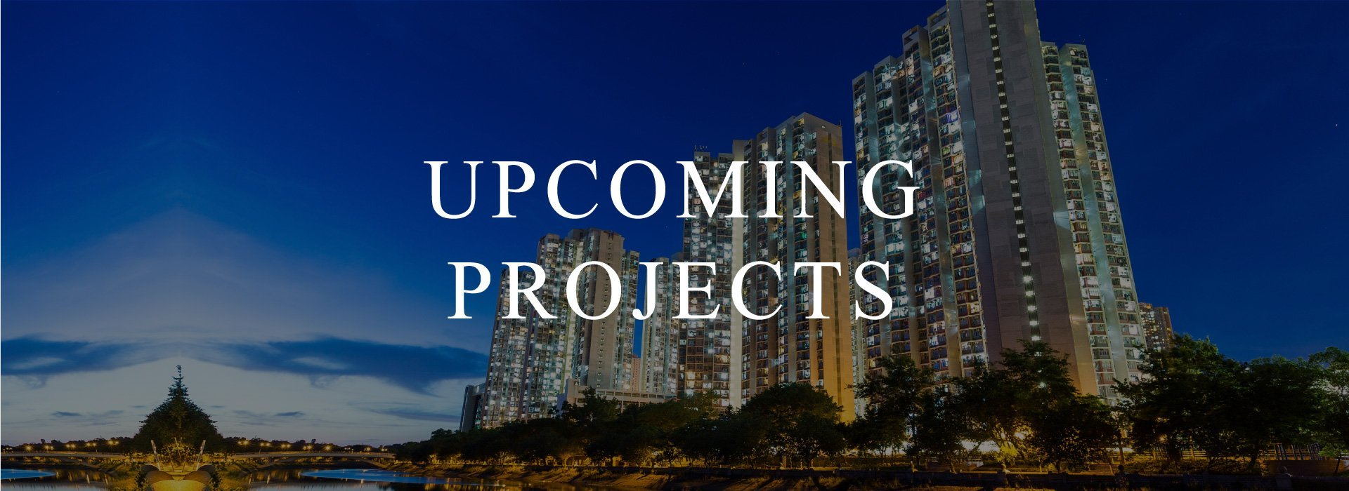 Header Upcoming Project