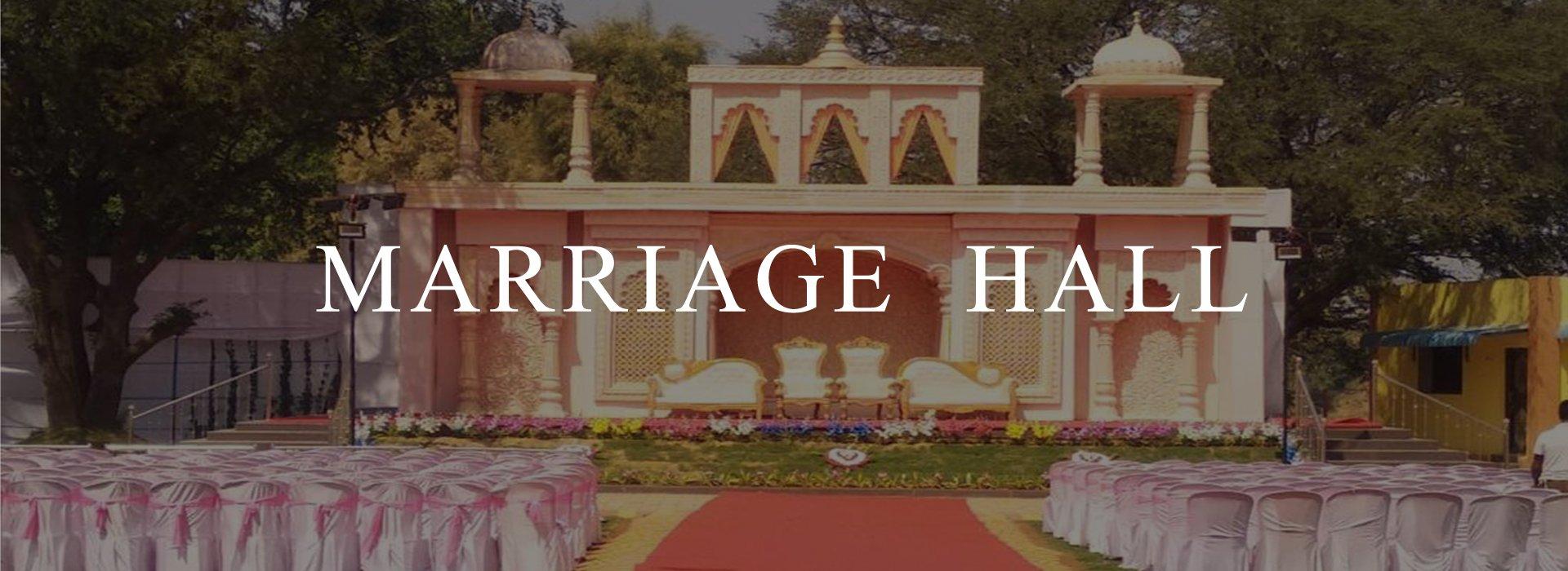 Marriage Hall Header Image